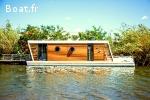 Nomadream1300, maison bateau de luxe (houseboat)
