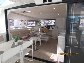 catamaran Catana 53 au salon nautique international 2017 de Cannes