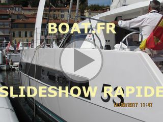 SlideShow rapide du catamaran Catana 53 au salon nautique international 2017 de Cannes